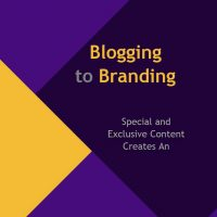 blogging to branding